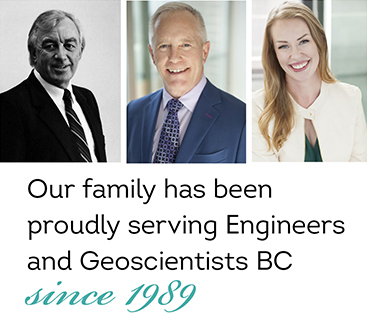 Celebrating 30 Years with Engineers and Geoscientists BC